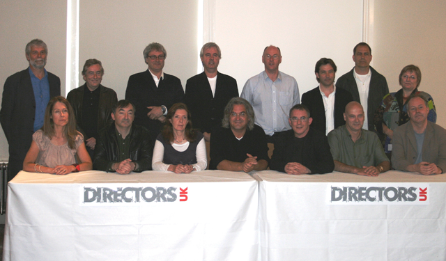 <i>The newly-elected Directors UK Board in 2008</i>