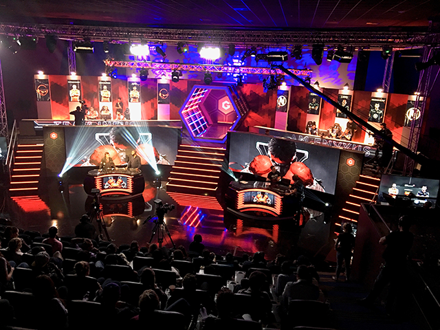 The Gfinity eSports Arena, London <i>Photo: Simon Brooke</i>