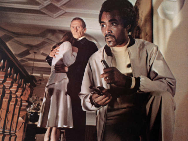 <i>A still from The Beast Must Die, directed by Paul Annett. Photo: Photo 12 / Alamy Stock Photo</i>