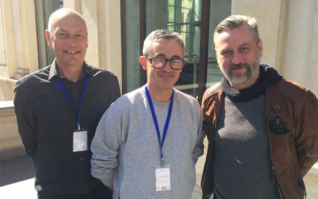 Bill Anderson (Left), Dan Clifton (Centre) and Klemen Dvornik (Right).