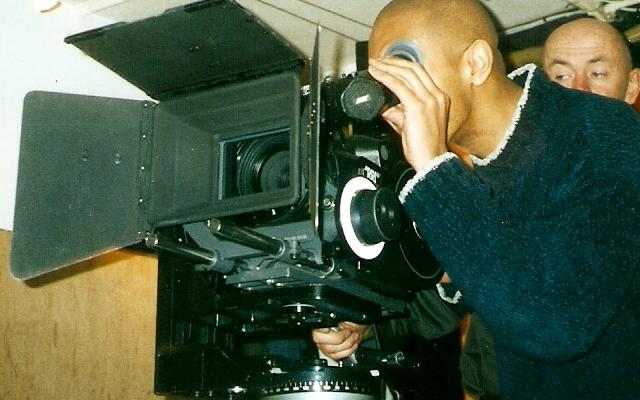 Jason Young behind the camera.