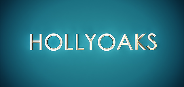 Blue hollyoaks logo loz